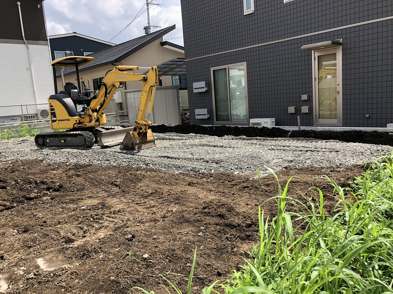 Y様邸 新築工事 進捗状況